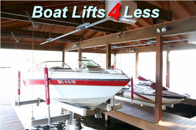 Boat Lifts 4 Less -The Best Boat Lift source for Boathouse Lifts